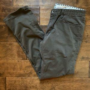 Men's Vans Brown Chino Slim Leg Pants Size 32